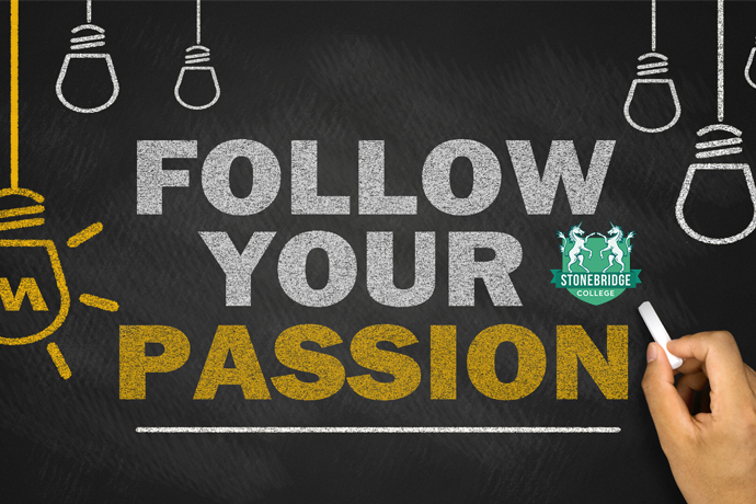 How to find your passion stonebridge associated colleges distance follow your passion ccuart Choice Image