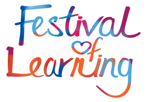 Go back to studying. Festival of learning logo