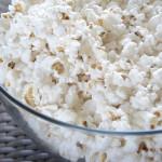 Popcorn Bowl Watching A Film