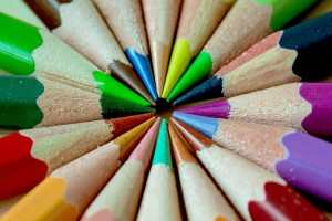 How the role of a Teaching Assistant can make a difference. Pencils in a circle.