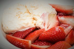 Wimbledon facts. Strawberries and cream