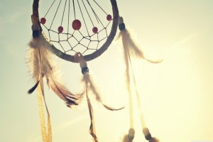 Inspirational quotes. Dreamcatcher