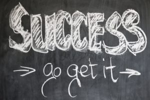 What is success? Chalk board