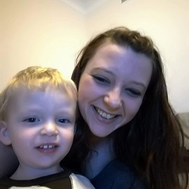 Young mum Hannah Pole wanted to know how to become a web developer