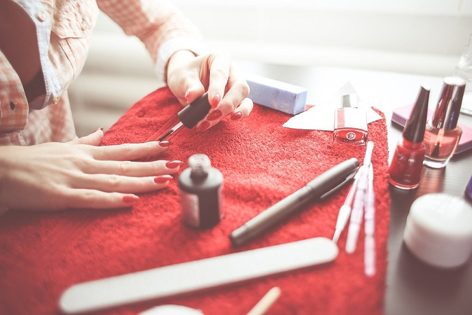 Our graduate turned her hobby into a job by becoming a nail technician