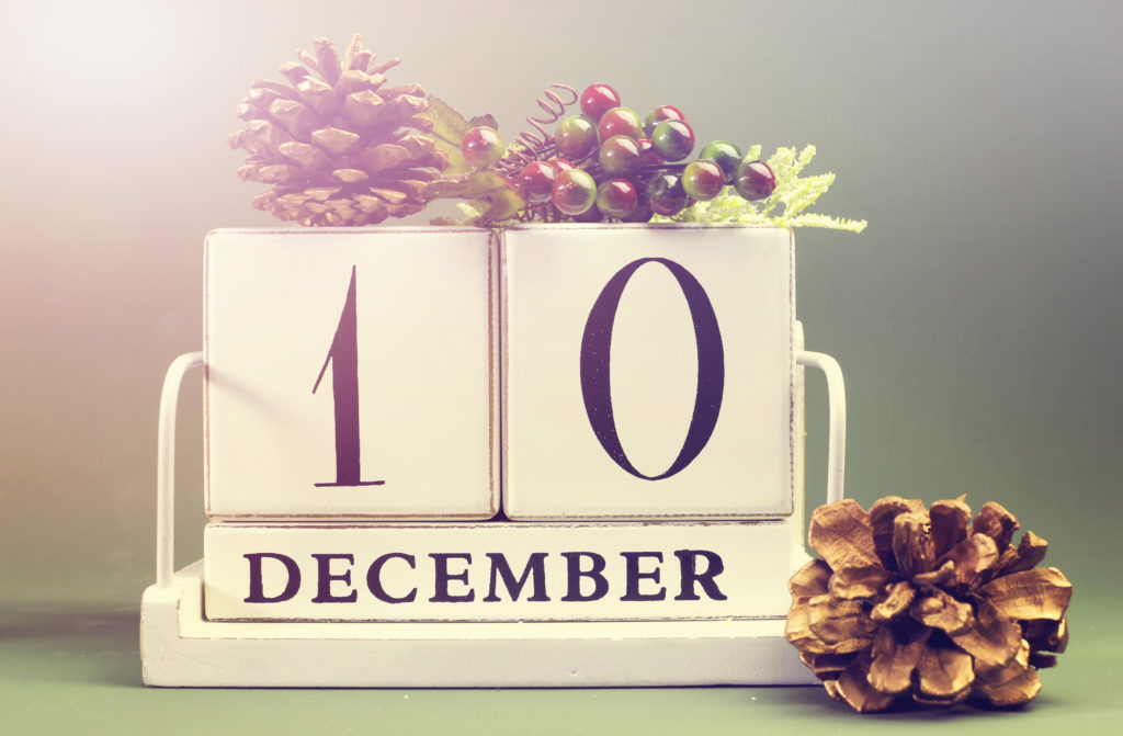 December 10 beauty therapy advent calendar