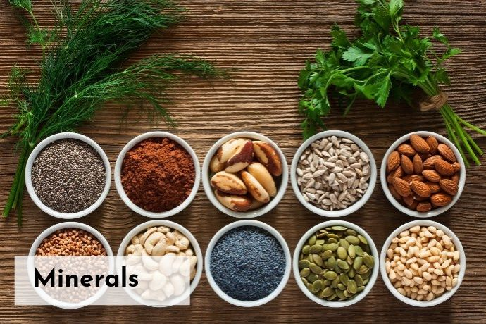 sources of minerals in nutrition