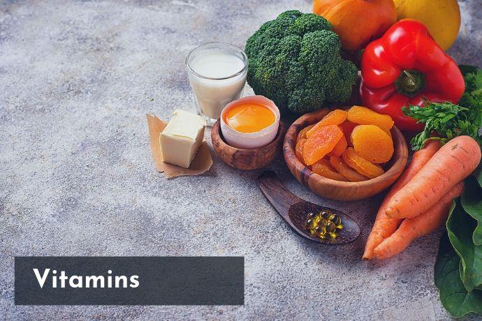 vitamins in food,