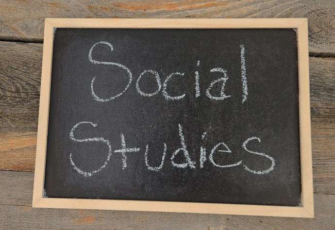 social studies written in chalk on a chalkboard on a rustic background. Counselling