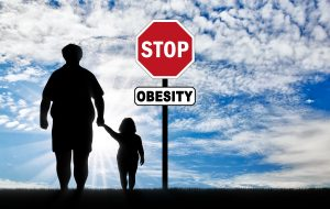 Concept of stop obesity