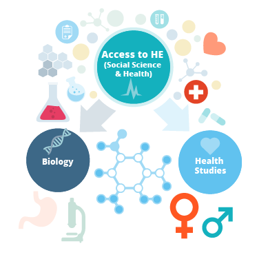 Access to Higher Education Diploma (Social Science and Health) Courses
