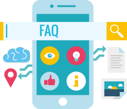 faq smartphone icon